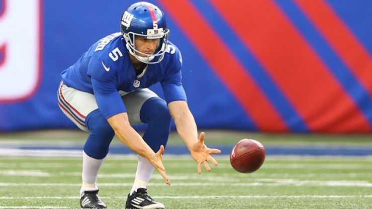 Pic: The New York Giants punter might be the most ripped man in sports