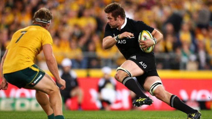 Video: All the highlights from the All Blacks' comprehensive defeat of Australia this morning