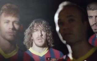 Video: Taxi for Lineker as Barcelona stars out in force for latest ad