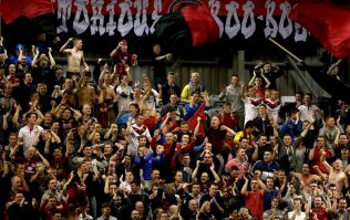 Picture: This is what it meant to Bohs to beat Rovers tonight