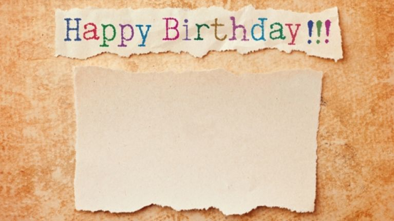 Pic Irish Dad Receives One Of The Best Birthday Cards You Will Ever See