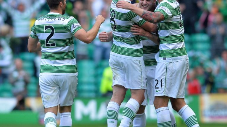 Pic: The Wikipedia page of Celtic's Champions League opponents was briefly tampered with today