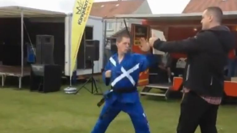 Amazing Martial Arts Demonstration