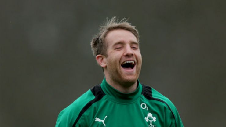 On the night before the Leaving Cert results, the Leinster squad had a good laugh at Luke Fitzgerald's expense