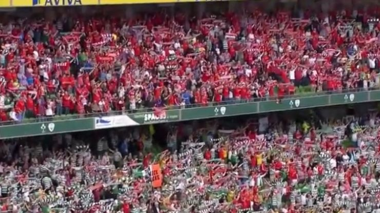 Video: The hair-raising rendition of You'll Never Walk Alone from the Dublin Decider yesterday