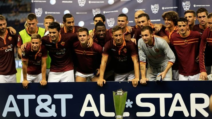 Trash-talking backfires as MLS All-Stars are soundly beaten by Roma