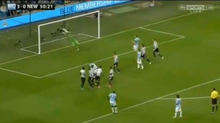 Video: Great free kick from Yaya Toure and a Samir Nasri strike add to Newcastle's woes