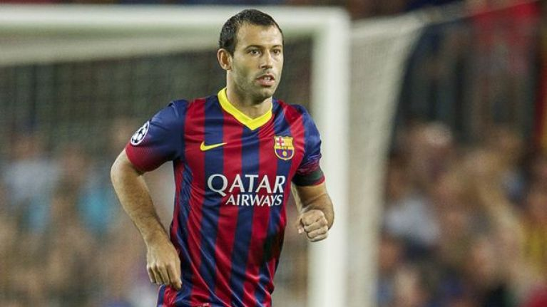 Here's what's actually happening with Javier Mascherano today