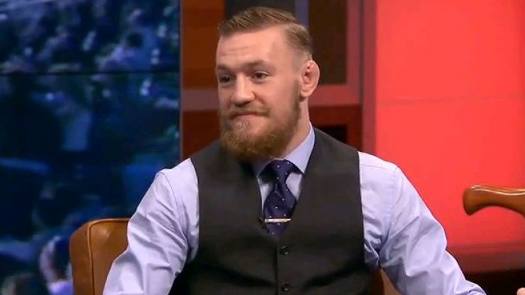 Video: Conor McGregor talks to FOX about Jon Jones, injury and how he got into MMA