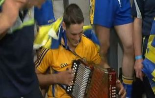 Video: Dressing room celebrations after All-Ireland Final victory, Clare style
