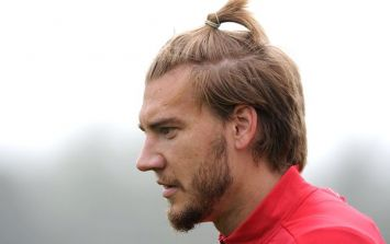Pic: Nicklas Bendtner channels his inner Zlatan with new hairdo