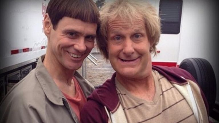 Pics: The making of Dumb and Dumber To looks to be going well | JOE