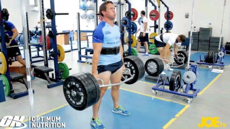 Video: JOE talks deadlifts with Leinster's head of fitness