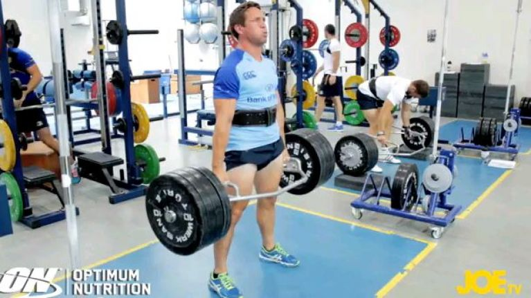 Video: JOE talks deadlifts with Leinster's head of fitness