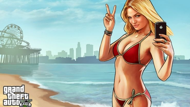 Pic: So Kate Upton isn't on the cover of Grand Theft Auto V
