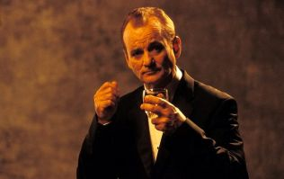 Pic: The legend that is Bill Murray gets involved in a couple's engagement photo