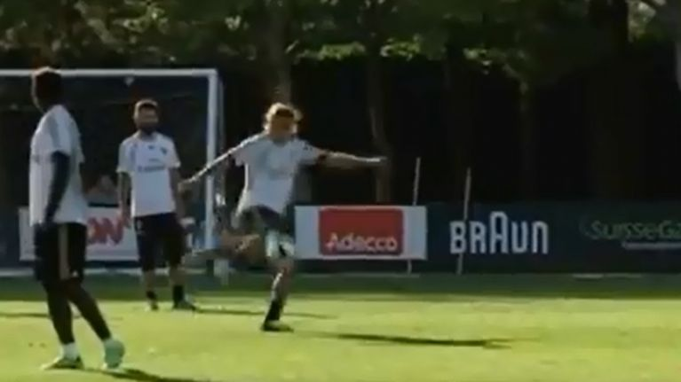 Video: 15 seconds of sheer perfection at an AC Milan training session