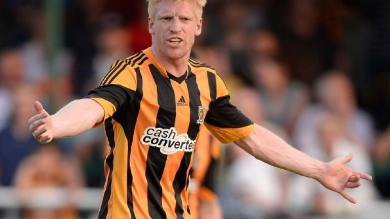 Paul McShane will never want to change the Wikipedia page that says he plays for Barcelona