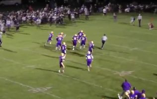 Video: D'oh! American football team think they've won the game, celebrate too early and end up losing