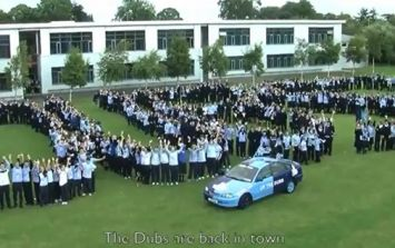 Video: A school in Knocklyon have gone to great lengths to get behind the Dubs