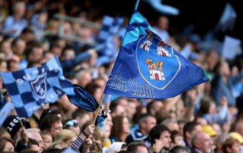 Pic: Deep Blues: The biggest scuba-diving Dublin fans you'll see this weekend