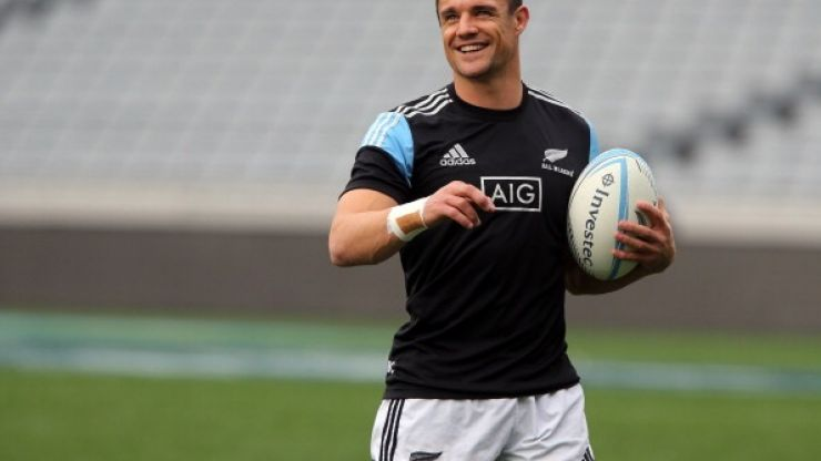 Dan Carter's latest training exercise sounds bloody tough