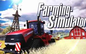 Video: Farming Simulator has the best trailer & tractor you'll see for a game today