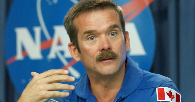 Chris Hadfield speaks glowingly of his Irish support in space