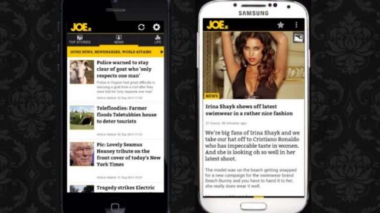 The slick new JOE apps have landed on Android and iOS