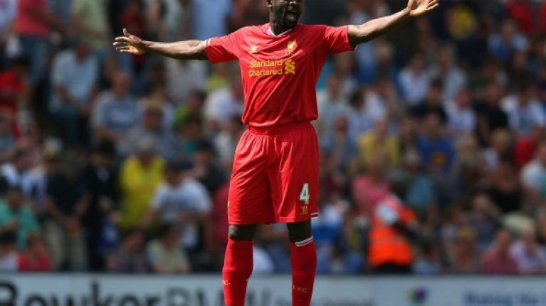 Video: Liverpool's Kolo Touré gifts West Brom an equaliser with this complete brain fade