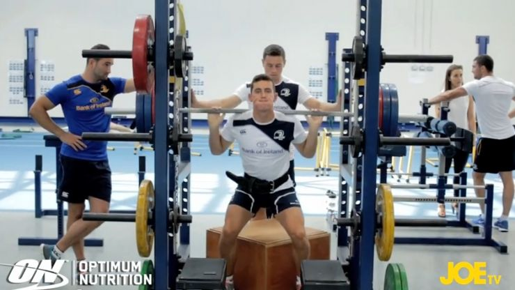 Video: JOE talks squats with Leinster's head of fitness