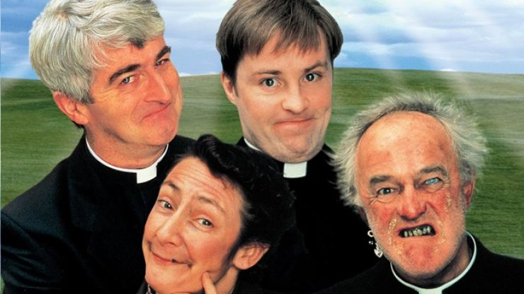 Two Irish fans have made a brilliant Father Ted inspired banner for the Ireland vs. Austria match