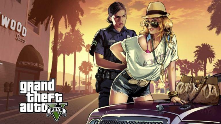 video of grand theft auto v