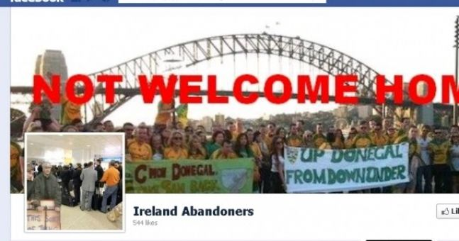 The Ireland Abandoners Facebook page has brewed up a bit of a storm