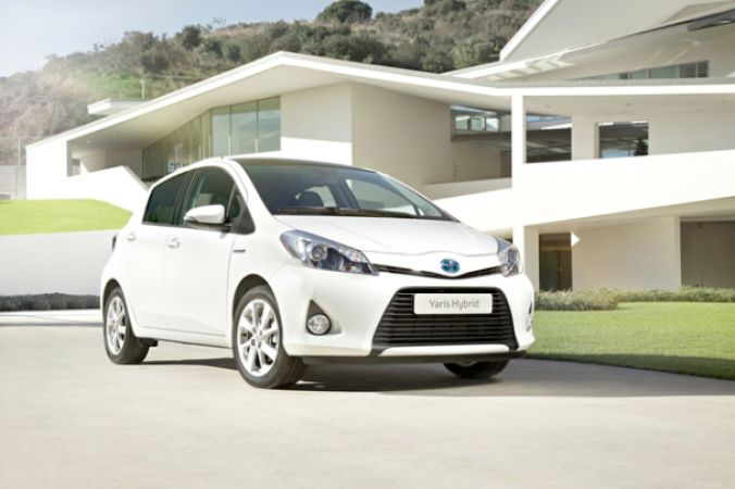 The Toyota Yaris Hybrid The eco warriors can come down from the