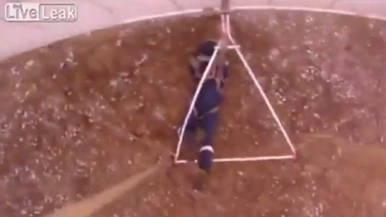 Video: Hang-glider thinks he can fly - he can't | JOE is the voice
