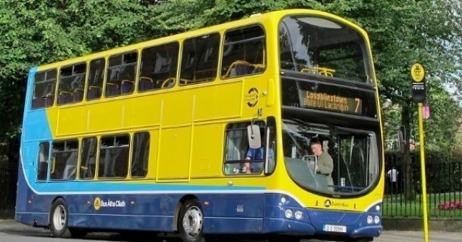 Pic of the Day: Surely the most unusual passenger on Dublin Bus today