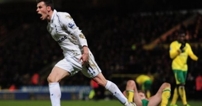 Video: In case you missed it, here's Gareth Bale's wonder goal against Norwich last night