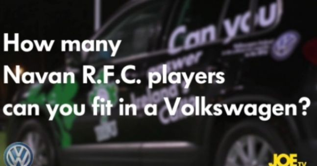 [CLOSED] Competition: Win a signed Irish Rugby Jersey thanks to Volkswagen