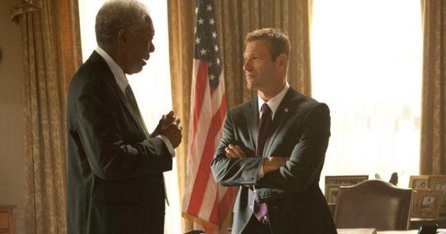 Video: Morgan Freeman and Gerard Butler star in action movie 'Olympus has Fallen'