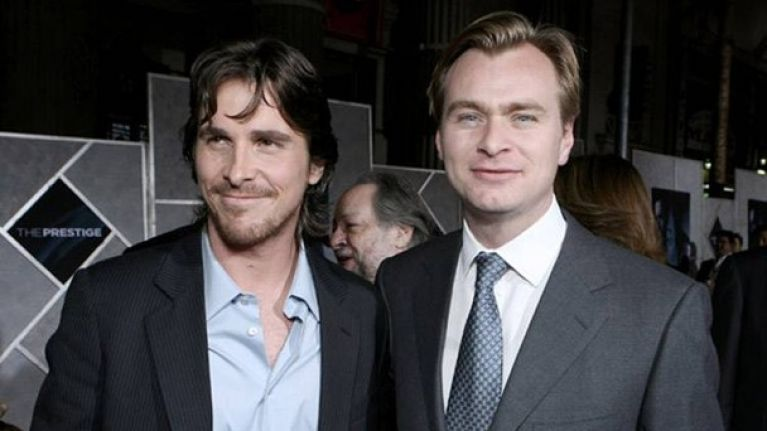 Image result for christopher nolan and christian bale
