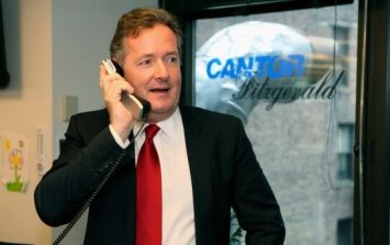 Piers Morgan and Gary Neville are having a bet on today's big game for charity