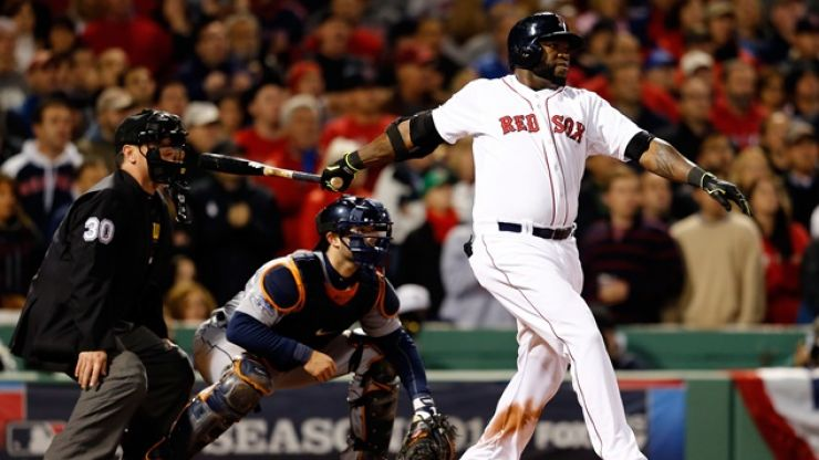 Pic: Today's Boston Globe features one of the best baseball pictures ever