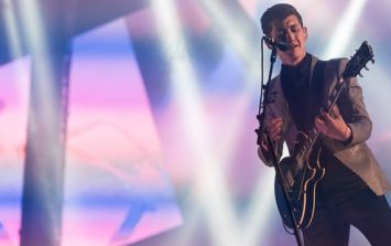 Arctic Monkey's Alex Turner explains bizarre Brit Awards speech as being 'nerves'