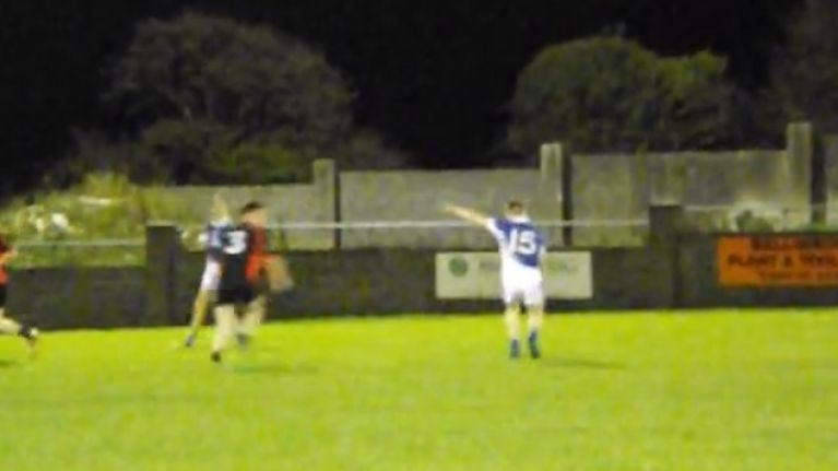Video: Cracking 'double dummy' point from Mayo minor championship