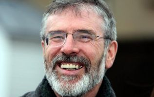 The weather and budget according to the poet Gerry Adams