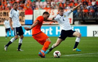 Video: How did this go in? Barely believable goal from the Holland under-21s last night