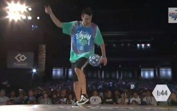Video: Irish freestyler Daniel 'Scenery' Dennehy shows off some slick tricks at World Finals in Tokyo