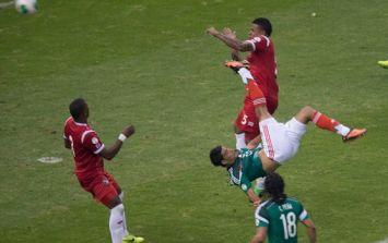 Panama newspaper laments Mexico's 'fu**ing' bicycle kick winner