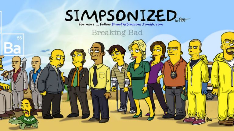 Pics the simpsons style drawings of the breaking bad cast are pics the simpsons style drawings of the breaking bad cast are tremendous voltagebd Choice Image